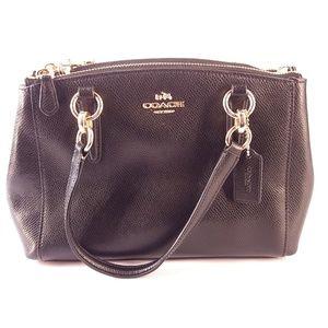 Coach   Black Handbag w/ Detachable Shoulder Strap